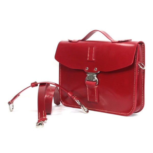 Marcellino NY - Small red Oxblood Red case, the ida