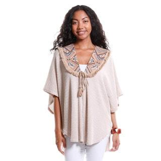 Hadari Women's Tribal Print Bib Tunic