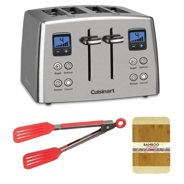 Cuisinart CPT435 Countdown Stainless Steel Toaster Bundle