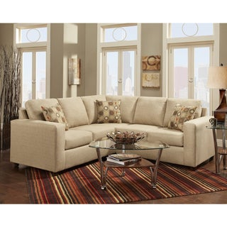 Exceptional Designs Vivid Fabric Sectional