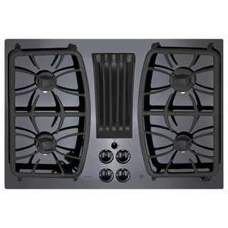 GE Profile Series 30-inch Built-in Gas Downdraft Cooktop