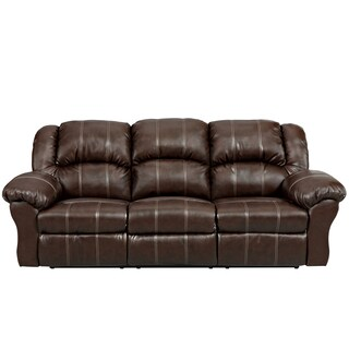 Exceptional Designs Leather Reclining Sofa