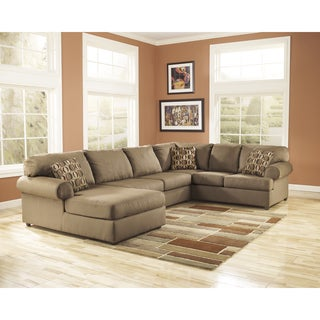 Signature Design by Ashley Cowan Café Fabric Sectional