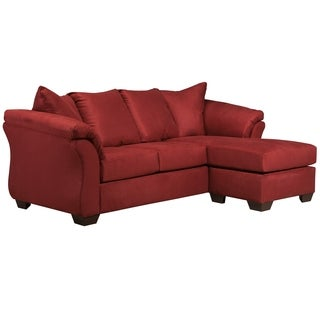 Signature Design by Ashley Darcy Microfiber Sofa Chaise