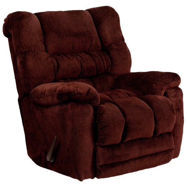 Contemporary Temptation Microfiber Rocker Recliner