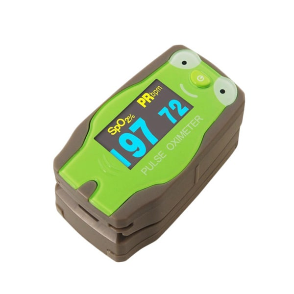 ChoiceMed Green Frog Digital Finger Pulse Oximeter