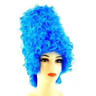Blue 1960's Beehive Wig