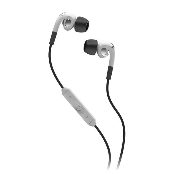 Skullcandy Fix White In-ear Headphones with Mic3 and Remote