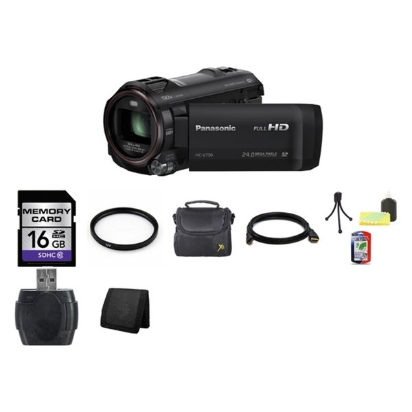 Panasonic HC-V750 16GB Bundle