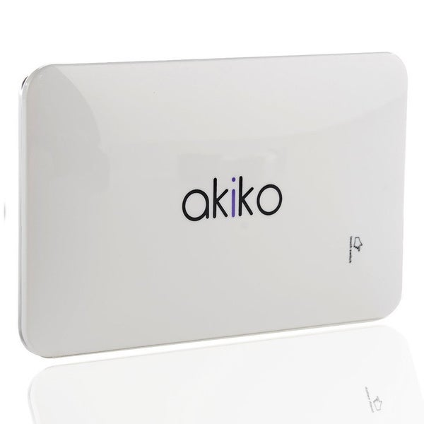 Akiko White 9000mAh External Portable Battery Pack