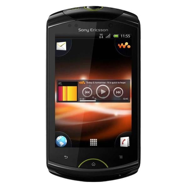 Sony Ericsson Live Walkman WT19a Unlocked GSM Android Cell Phone- Black