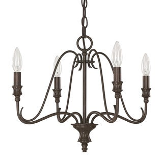 Capital Lighting Abbey Collection 4-light Russet Chandelier