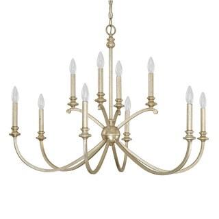 Capital Lighting Donny Osmond Alexander Collection 10-light Winter Gold Chandelier