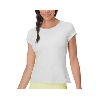 Women's Fila Goddess Cap Sleeve Top White