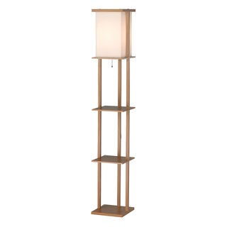Barbery Shelf Floor Lamp