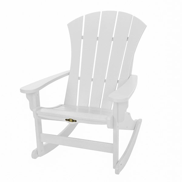Sunrise White Adirondack Rocker