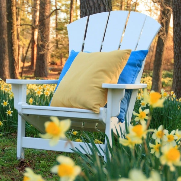 Sunrise White Adirondack Chair