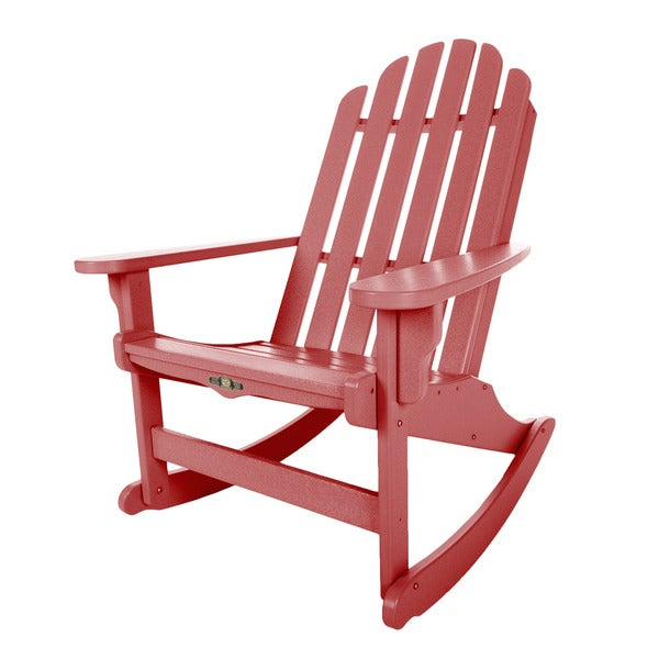Essential Red Adirondack Rocker