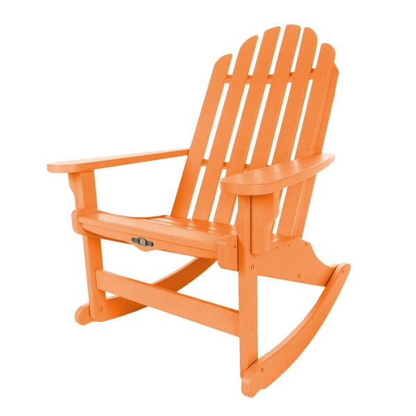 Essential Orange Adirondack Rocker