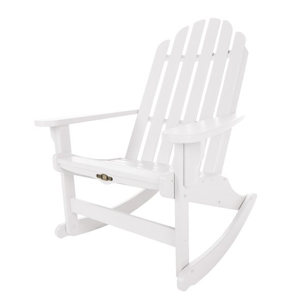 Essential White Adirondack Rocker