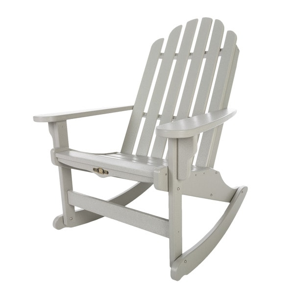 Essential Grey Adirondack Rocker