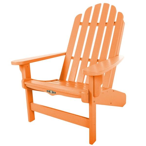 Essentials Orange Adirondack Chair
