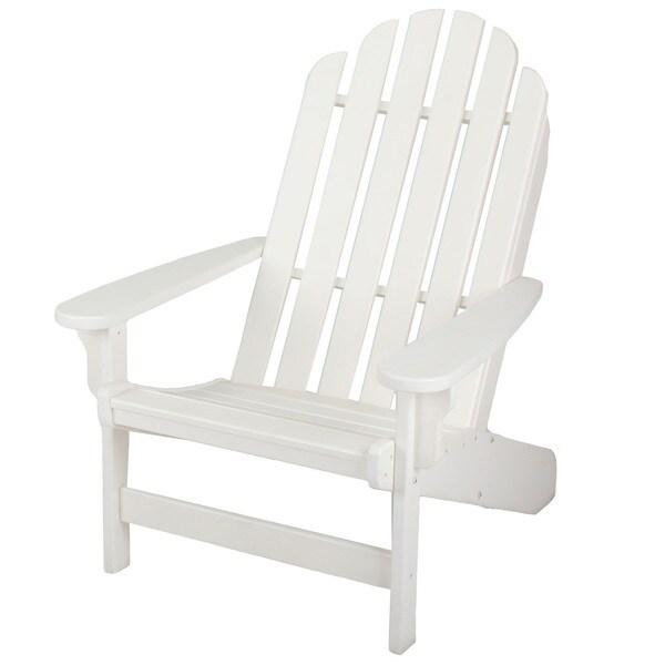 Essentials White Adirondack Chair