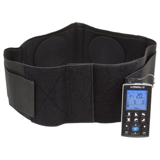 Garmetrode Conductive Back Brace with Two (2) Rubber Electrodes