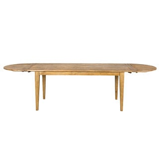 Pine Plank Expandable Dining Table