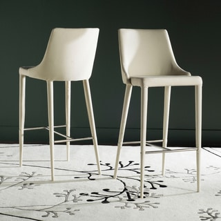Safavieh Summerset Beige 29-inch Bar Stool (Set of 2)