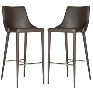Safavieh Summerset Brown 29-inch Bar Stool (Set of 2)