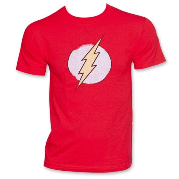 Men's Flash Logo Red T-Shirt