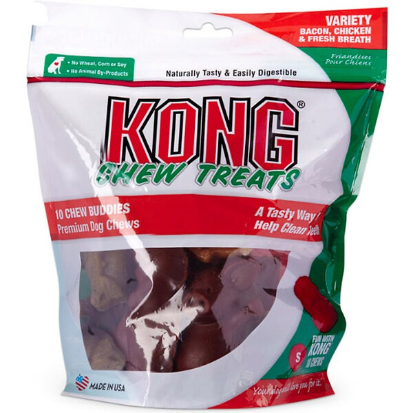 Kong Chew Buddies Dog Treats