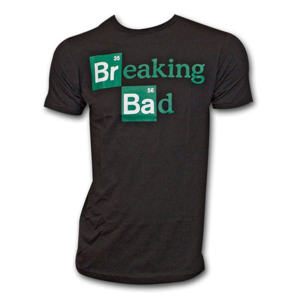 Men's Breaking Bad Logo Black Shirt