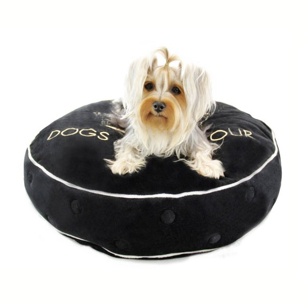 Dogs of Glamour Round Glam Crown Bed