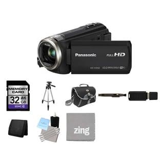 Panasonic HC-V550 Full HD Camcorder 32GB Bundle