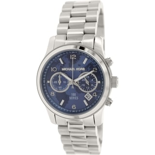 Michael Kors Women's Hunger Stop MK5814 Silver Stainless-Steel Quartz Watch