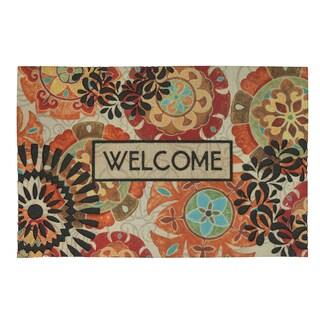 "Mohawk Home Eastern Suzani Doormat (23""x35"")"