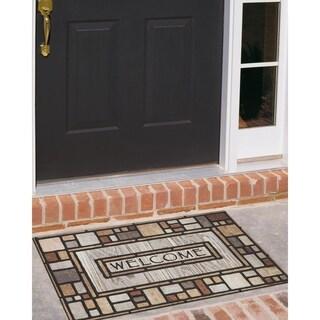 """Mohawk Home Drifted Nature Doormat (18""""x30"""")"""