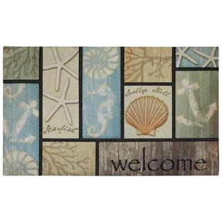 "Mohawk Home Driftwood Welcome Doormat (18""x30"")"