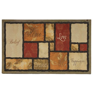 """Mohawk Home Tapestry Spice Doormat (18""""x30"""")"""