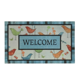 """Mohawk Home Bird Collection Welcome Doormat (18""""x30"""")"""