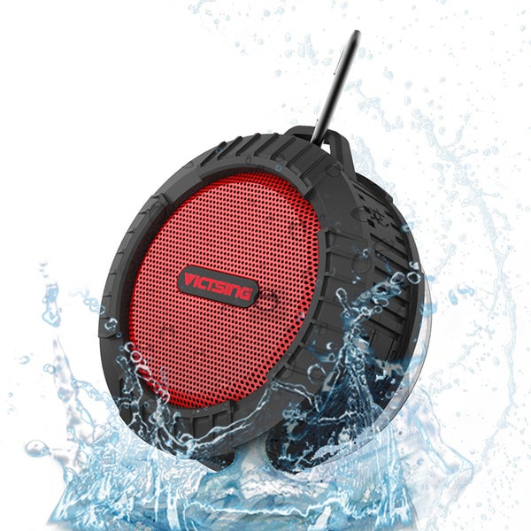 Phoenix Waterproof Bluetooth 4.0 Suction Cup Portable Speaker with Mic