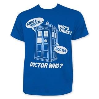 Doctor Who Knock Knock Tee Shirt