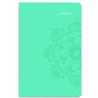 AT-A-GLANCE Suzani 5 1/2 x 8 1/2 2016 Weekly/Monthly Appointment Book