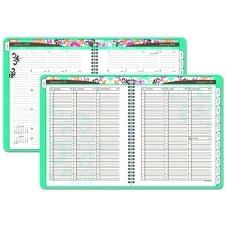 AT-A-GLANCE Suzani 8 1/2 x 11 2016 Weekly/Monthly Appointment Book