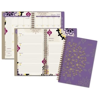 AT-A-GLANCE Vienna 5 1/2 x 8 1/2, Purple 2016 Weekly/Monthly Appointment Book