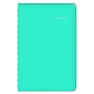 AT-A-GLANCE LifeLinks Professional 5 1/2 x 8 1/2 Teal 2016 Weekly/Monthly Appointment Book