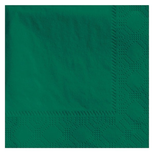 Hoffmaster 9 1/2 x 9 1/2 Hunter Green Beverage Napkins (Pack of 1,000 Napkins)