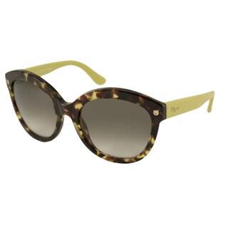 Ferragamo Women's SF677S Rectangular Sunglasses